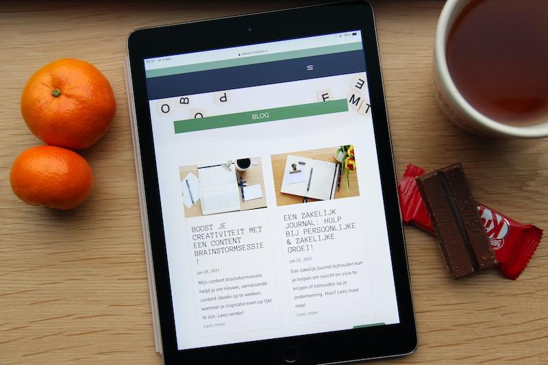 Promoot je blog op social media door blog snacks te gebruiken