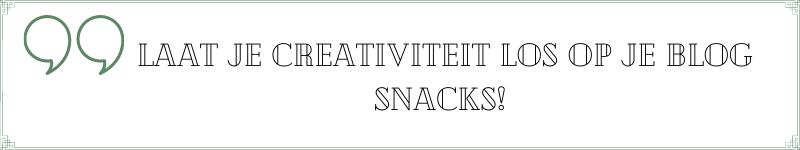 promoot je blog op social media met blog snacks