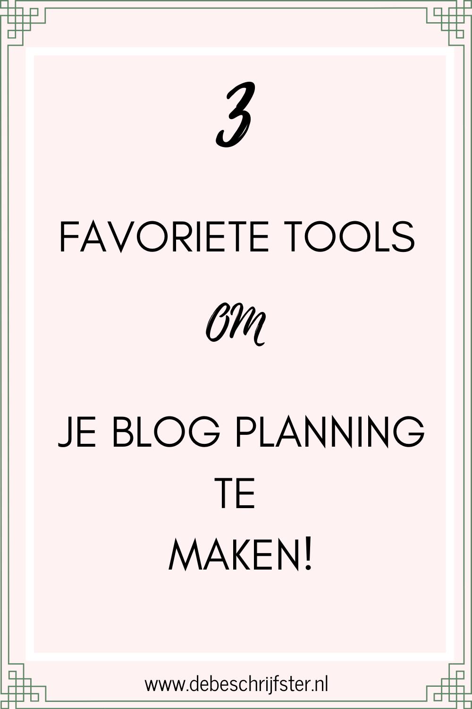 Zo kun je makkelijk planning maken met deze handige tools