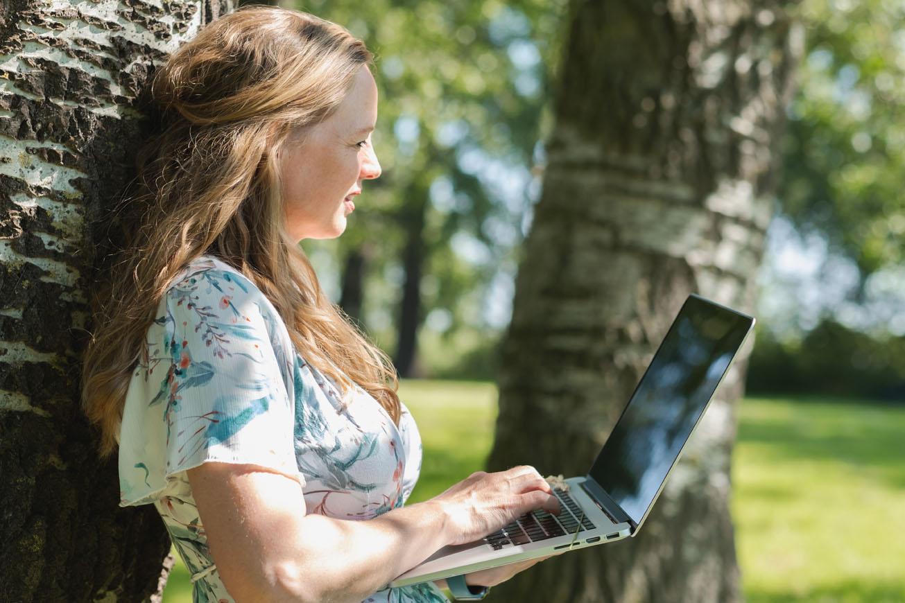 Blogteksten schrijven kan overal!